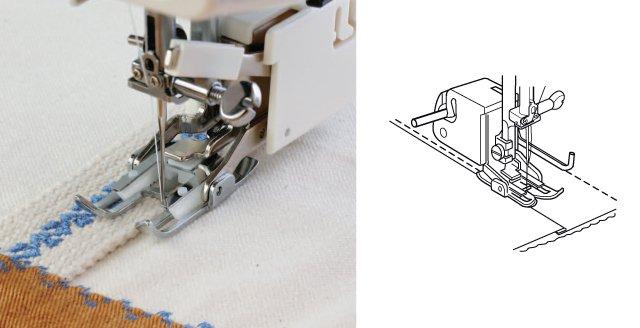 верхний транспортер в швейной машине что это