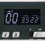 LCD-дисплей и навигация у Janome 3160 QDC.