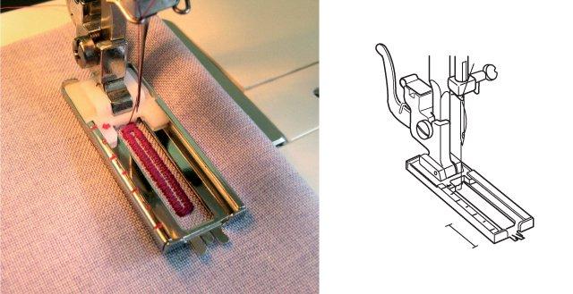 Лапка Janome рамка для петли 941-852-000-2